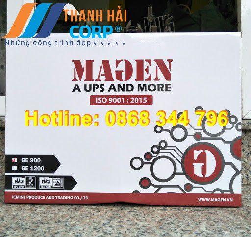 bình tích điện cửa cuốn Magen